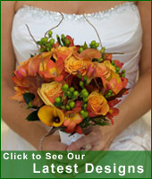 Link to latest wedding flowers designs on our blog