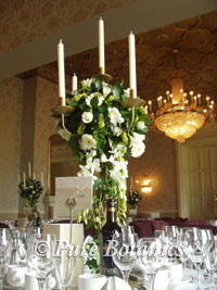 Wedding Flowers Arrangement Table white rose Classic Floral