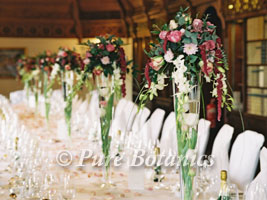 Tall Flowers Table Decoration