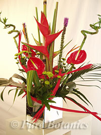Tropical corporate flowers