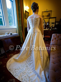 handmade unique wedding dress