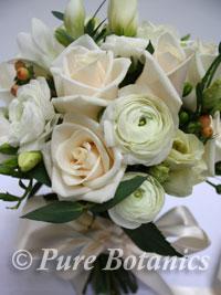 Vintage wedding bouquet for a bride