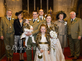Winter wedding at Wroxall Abbey, Solihull