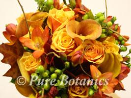 autumn wedding flowers bouquet