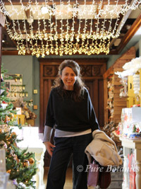 me in the christmas shop in liberty