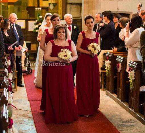 Rose Wedding At Wroxall Abbey - Solihull