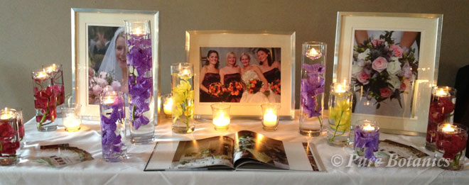 Our stand at the Walton Hall Wedding Fair.