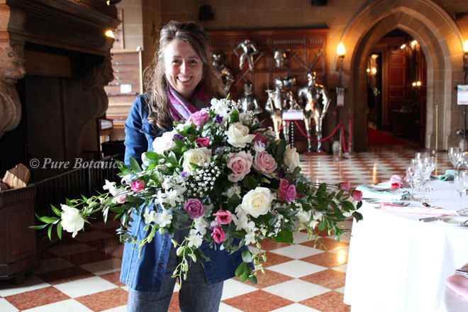 wedding florist... Warwick Castle Weddings