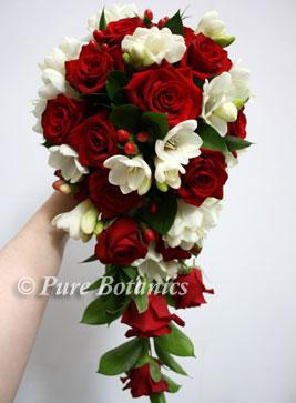 Red Wedding Flowers | Pure Botanics