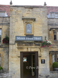 manor house hotel , moreton in marsh, on day of a wedding