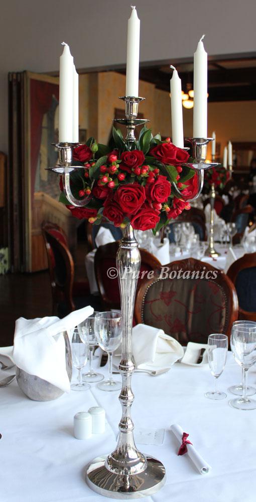 December Wedding Centrepiece Pure Botanics