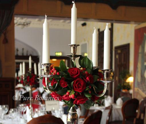 Wedding Flowers December: December Wedding Flowers In Warwickshire
