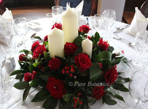 December Wedding Flowers In Warwickshire Pure Botanics