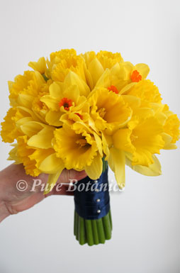 Bridesmaids Bouquet Featuring Daffodils