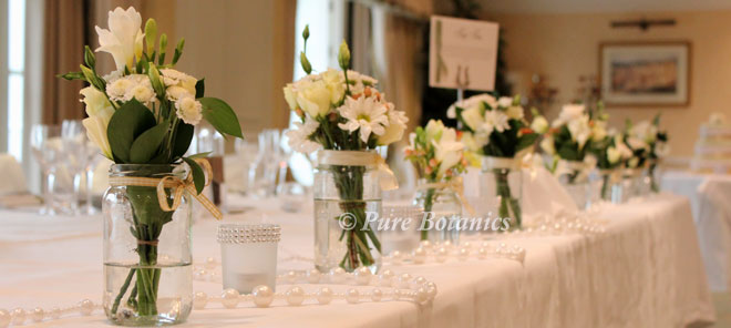 Wedding Top Table Jam Jars