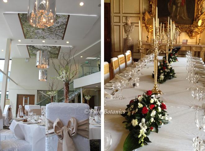 Gold wedding colour theme.
