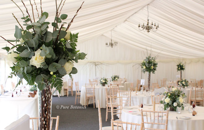 Wedding Table Flowers | Pure Botanics