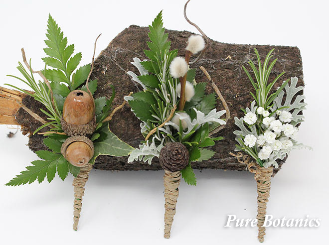 wedding buttonholes for a rustic wedding